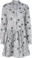 Opening Ceremony floral shirt dress - women - Cotton - 4