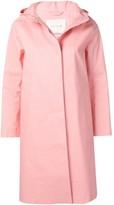 MACKINTOSH Pink Bonded Cotton Hooded Coat LR-021