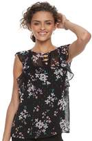 Candies Candie's Juniors' Candie's® Floral Ruffle Top