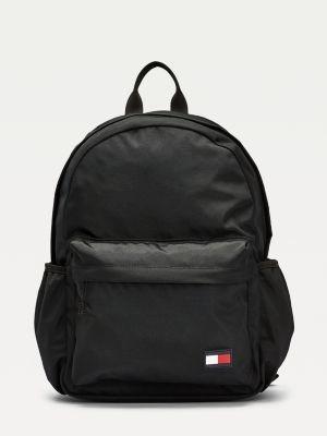 Tommy Hilfiger Kids Rubberised Flag Patch Backpack