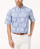 Club Room Men's Aloha Hibiscus Printed Shirt, Created for Macy's