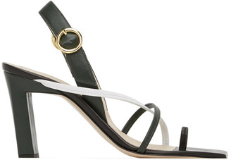 Wandler Green Elza Sandals