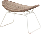 Houseology Gloster Bepal Foot Stool - White/Nutmeg