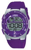 Lorus Watches Unisex Quartz watch with Novak Djokovic Foundation Digital Quartz Rubber R2381KX9