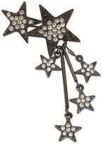 INC International Concepts Hematite-Tone Pavé Star Cluster Pin, Only at Macy's