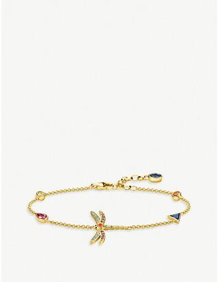 Thomas Sabo Paradise Colours 18ct yellow gold-plated bracelet