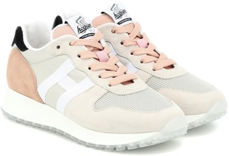 Hogan H429 Runner suede sneakers