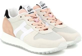 Hogan H429 Runner suede sneakers