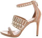 Rachel Roy Embellished Multistrap Sandals