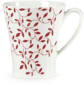 Mikasa Scarlet Vine Mug in Red/White