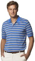 Chaps Men's Classic-Fit Texture-Striped Performance Polo