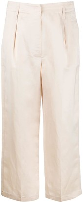 Semi-Couture Aude cropped trousers