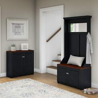 Beachcrest Home Fairview Entryway Storage Set with Hall Tree