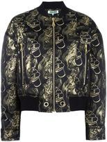 Kenzo Visage bomber jacket - women - Polyamide/Polyester/Spandex/Elastane/Metallized Polyester - XS