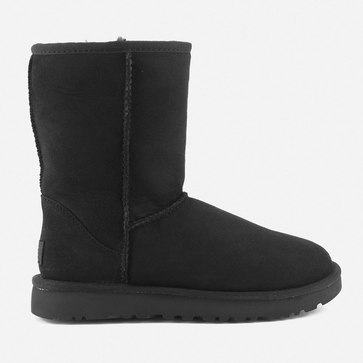 4763ba42804 Women's Classic Short II Sheepskin Boots - Black