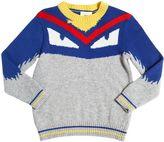 Fendi Monster Wool & Cashmere Sweater