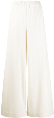 Joseph High-Waisted Wide-Leg Trousers