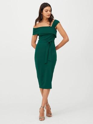 Very Single Strap Pencil Dress - Green
