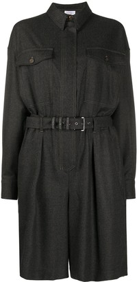 Brunello Cucinelli Belted Shirt Dress