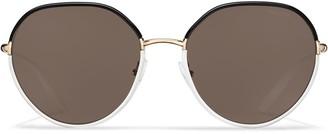 Prada Decode round-frame sunglasses