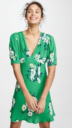 Free People Neon Garden Mini Dress