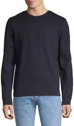 A.P.C. Crewneck Cotton Sweatshirt