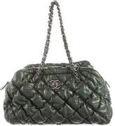 Chanel Bubble Quilted Bowler Bag