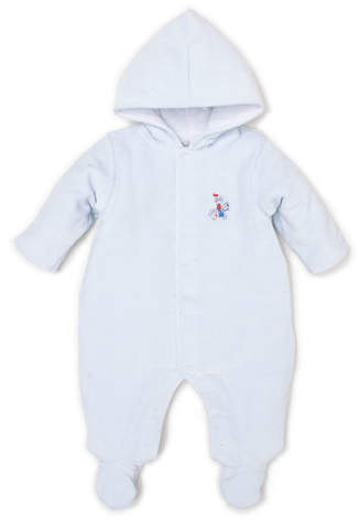 939aab21b76 Dragons Den Velour Hooded Footie Bunting, Size 0-9 Months