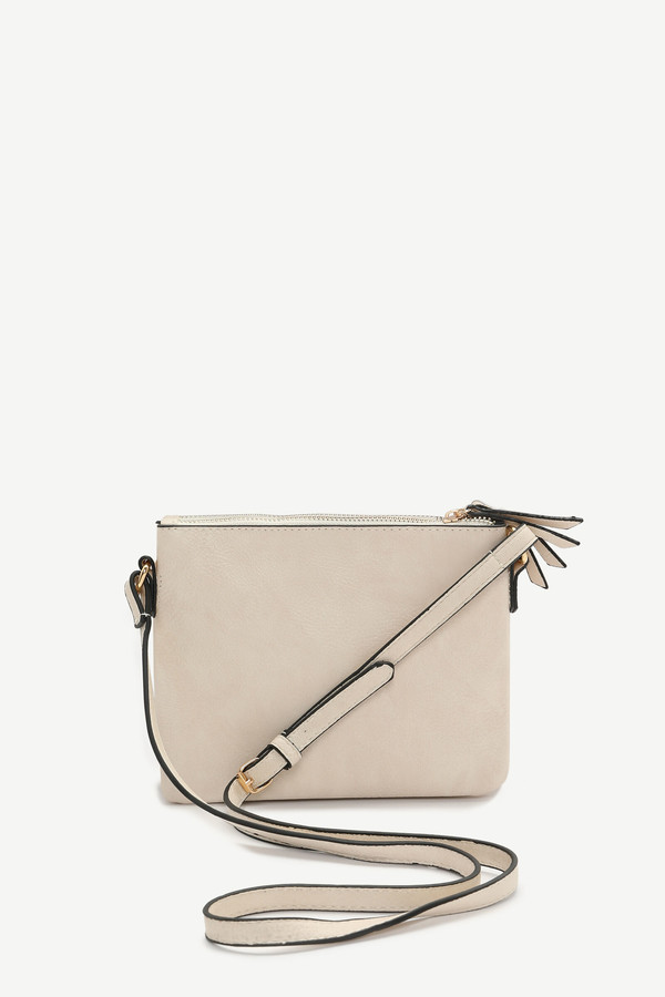 Ardene Faux Leather Crossbody Handbag