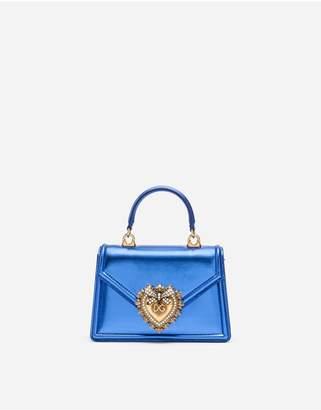 Dolce & Gabbana Small Mordore Nappa Leather Devotion Bag