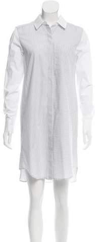 Tome Striped Cotton Shirtdress w/ Tags
