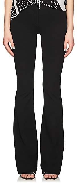 Derek Lam Women's Tech-Jersey Flared Trousers - Black