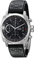 Oris Men's 4154LS BC4 Chronograph Stainless Steel Leather Strap Dial Watch