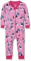 Hatley Baby Girls' 100% Organic Cotton Waffle Sleepsuit,12-18 Months