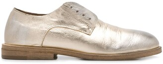 Marsèll Metallic Side Lace-Up Detail Loafers