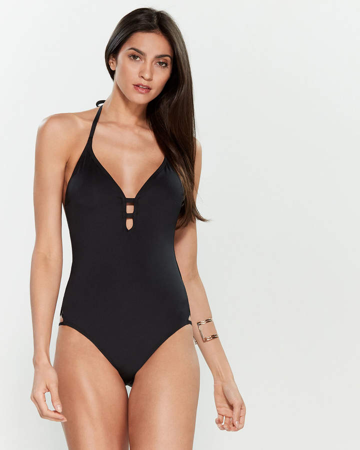 96fbf9fcc8 One Piece Swimsuit Criss Cross - ShopStyle