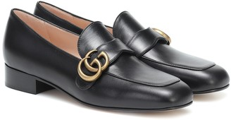 Gucci GG Marmont leather loafers