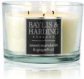 Baylis & Harding Triple Wick Candle - Sweet Mandarin & Grapefruit