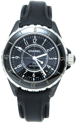 Chanel Black Ceramic J12 Unisex Watch 38MM