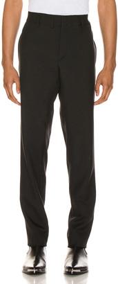 Saint Laurent Gabardine Trouser in Black   FWRD
