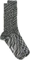 Missoni striped knit socks