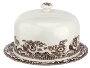 Spode Woodland Turkey Serving Platter with Dome