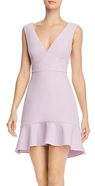 BCBGMAXAZRIA Flounce Hem Mini Dress - 100% Exclusive
