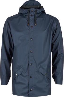 Rains Blue Jacket - L/XL - Blue