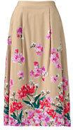 Classic Women's Petite Full Midi Skirt-Soft Lavender
