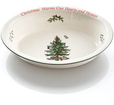 Spode Christmas Tree Sentiment Oval Rim Dish, Exclusively available at Macy's
