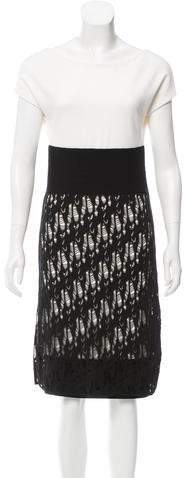 Chanel Distressed Knit Dress