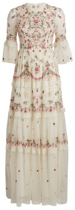 Needle & Thread Butterflies and Flowers Gown
