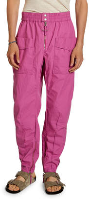 Isabel Marant Men's Solid Twill Cargo Pants