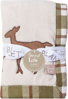 TREND LAB, LLC Trend Lab Deer Lodge Framed Fleece Baby Blanket
